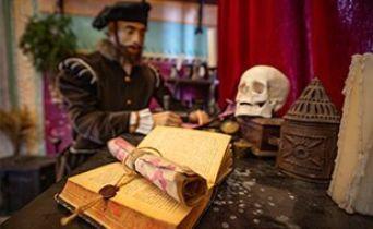 Středověká mučírna a laboratoř