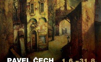 Pavel Čech na zámku v Moravské Třebové
