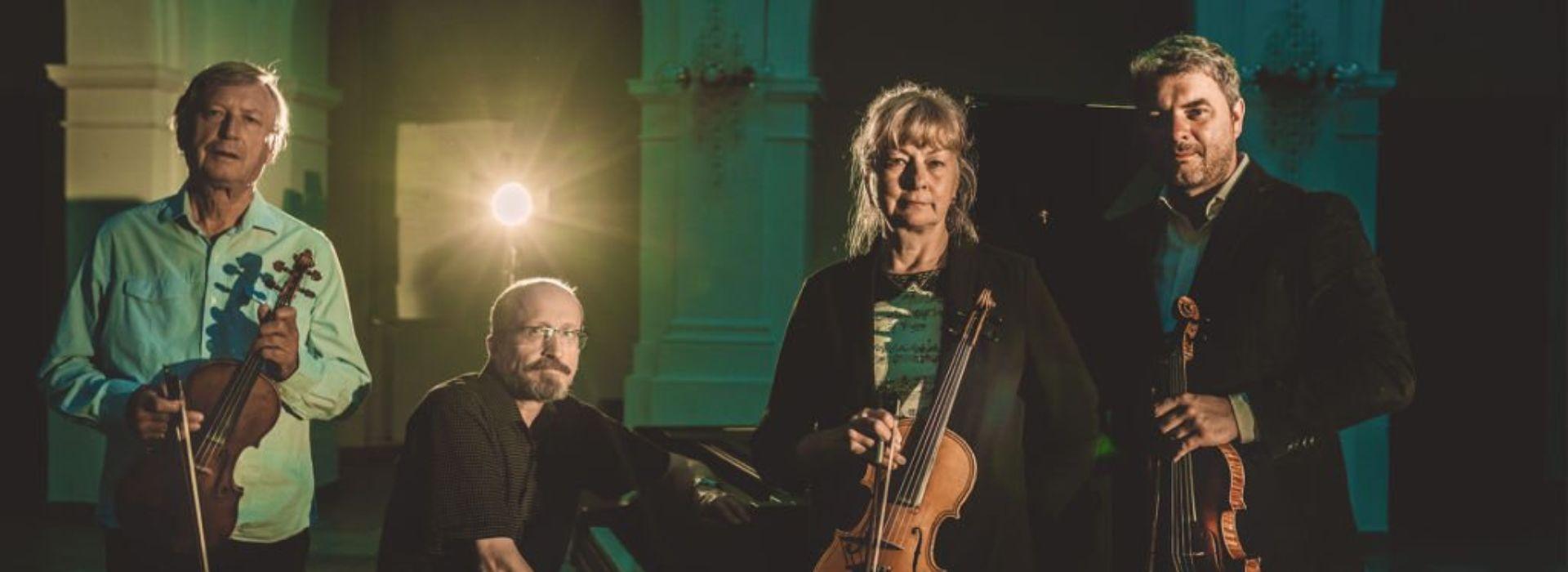 Josef Klíč, Kvarteto Ivana Hřebabetzkého