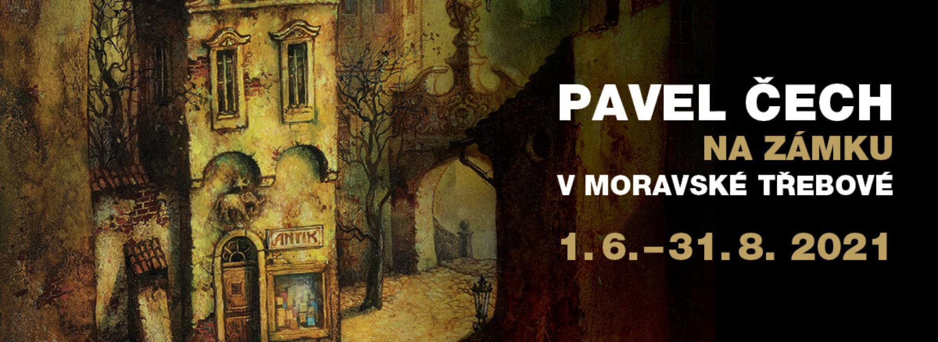 ZRUŠENO! – Dernisáž výstavy Pavla Čecha
