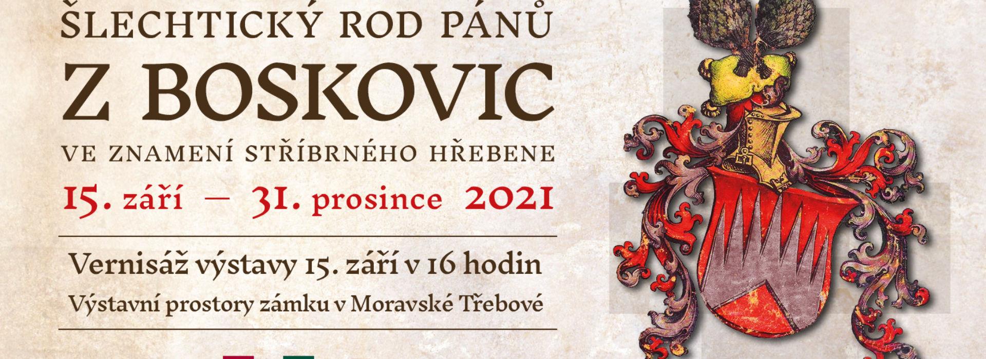 Vernisáž výstavy Šlechtický rod pánů z Boskovic – ve znamení stříbrného hřebene